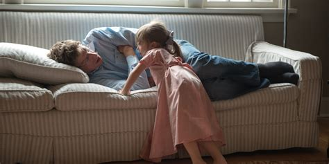 napping couch 11 questionable things parents do that they don t feel