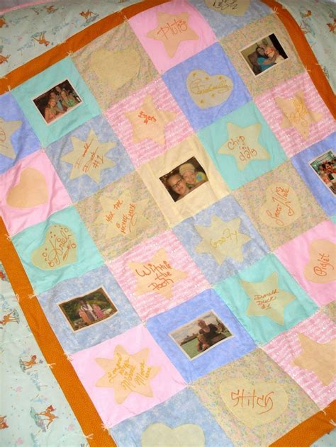 Autograph Quilts by Disney Cruise Autograph Memory Quilt Things I Make