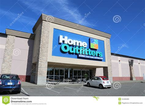 home outfitters furnture store editorial image image