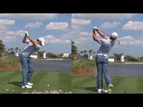 golf swing hitting the ground golf swing tip hit the ball then the ground like rory