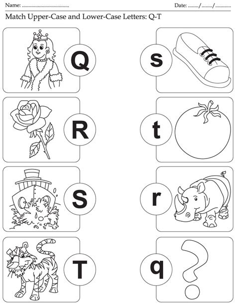 free tree letter matching a to m great winter and free worksheets letter matching pre k worksheets kids