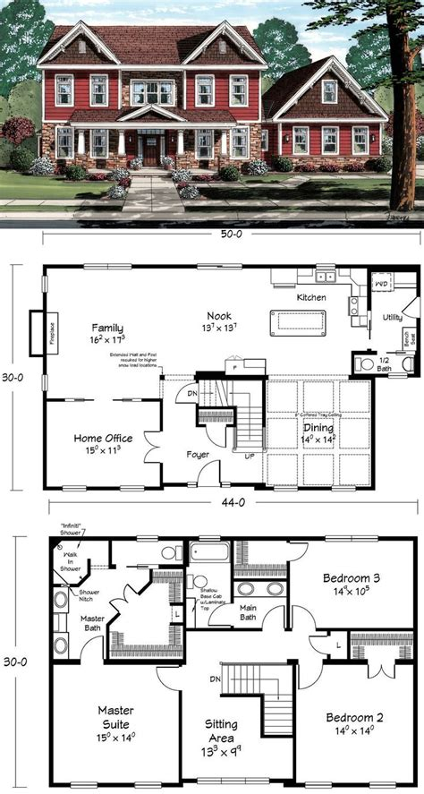 this is the ultimate two story home house plans