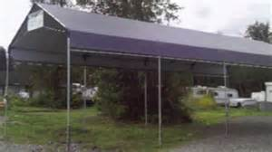 Carport Canopy Metal Carports For Sale From Aluminum Or Steel Metal To Portable