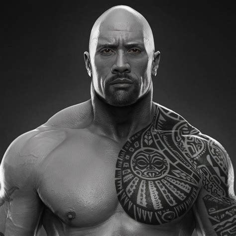 dwayne johnson buffalo tattoo dwayne the rock johnson done for wwe hossein diba on