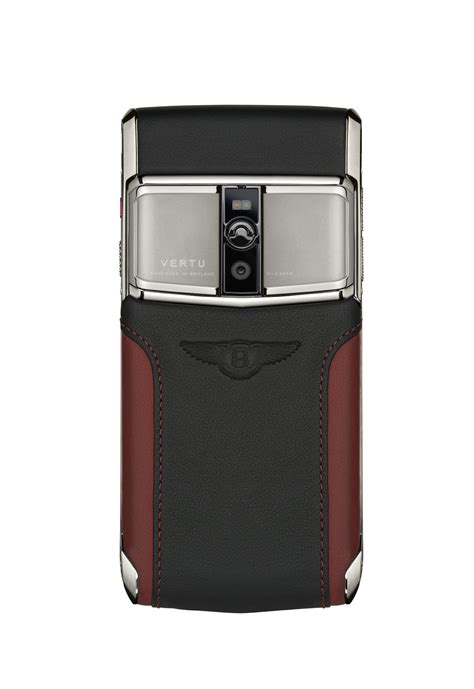 vertu bentley a vertu signature for bentley phone is here looks
