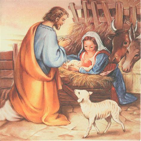baby jesus manger decoupage paper napkin nativity baby jesus