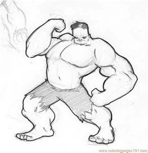 hulk coloring pages easy free coloring pages of hulk step by step
