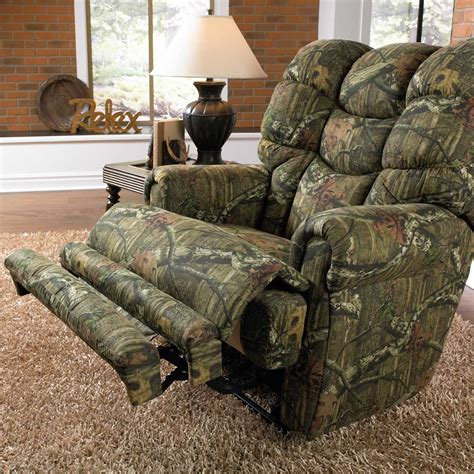 duck dynasty recliner catnapper duck dynasty appalachian lay flat recliner