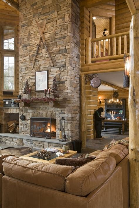 Log Home Fireplaces by Log Home Photos Fireplaces Special Spaces Expedition
