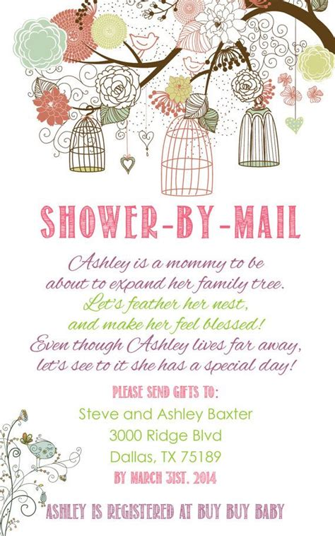 baby shower by mail invitations 17 best ideas about baby shower poems on