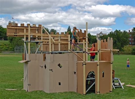 i kate house cardboard castle 1 just think of it