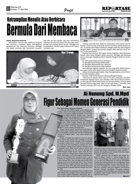 Jual Nes V Batam reportase nasional edisi 219 komunitas sosial batam