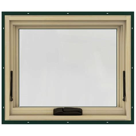jeld wen awning windows jeld wen 24 75 in x 20 75 in w 2500 awning clad wood