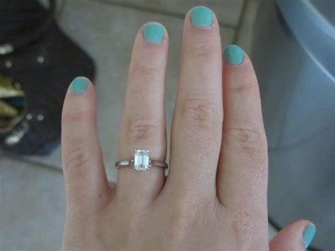 Short fingered girls let me see your rings!