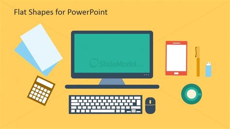 flat template free slidemodel your gateway to impressive powerpoint