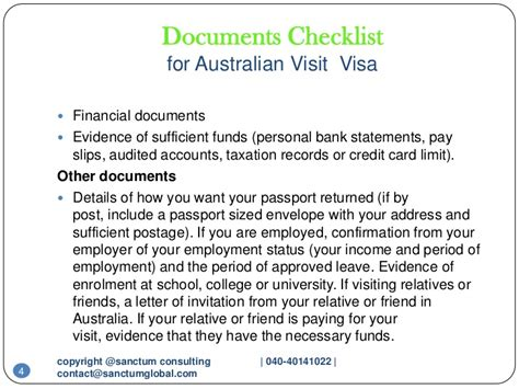 Invitation Letter For Visa Subclass 600 Australian Visit Visa Sanctum Consulting