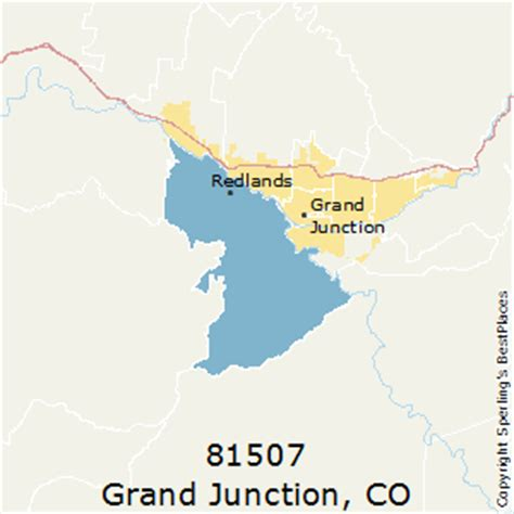 zip code map grand junction co best places to live in grand junction zip 81507 colorado