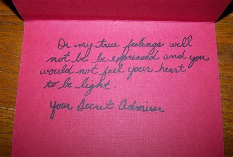 s card secret admirer send a handmade card to your crush signed secret admirer