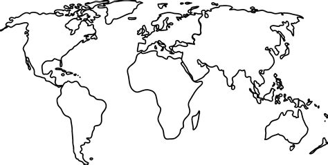blank world map pdf world map continents drawing inspirationa world map