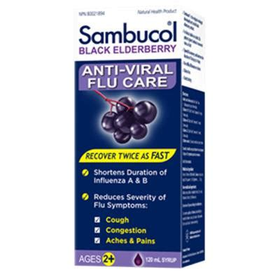 Sambucol Cold Flu 120 Ml health store and vitamin store 12 baskets nutrition and health co