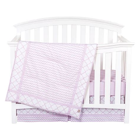 Bloom Crib by Trend Lab Orchid Bloom Crib Bedding Set Boscov S