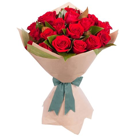 Bouquet Of Roses by Stemmed Bouquet 24 Roses Only Featured