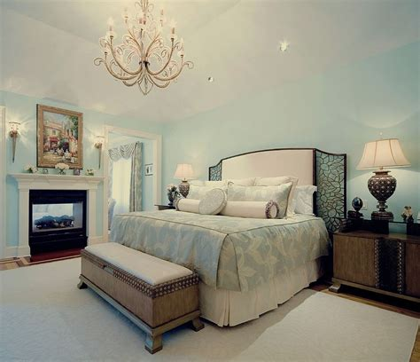 blue and white master bedroom ideas 25 elegant bedroom chandelier ideas that exudes luxury