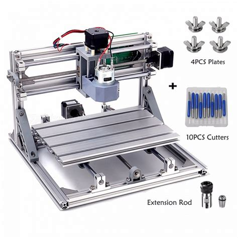 Mini Router Bolt cnc3018 wood router with er11 rod diy mini cnc engraving machine pcb pvc milling device best