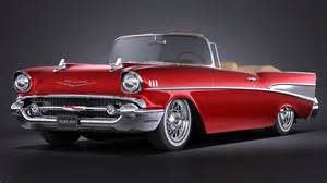 chevrolet bel air convertible 1957 vray squir