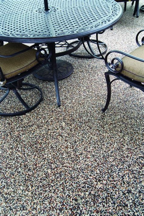 patio flooring outdoor custom and epoxy patios