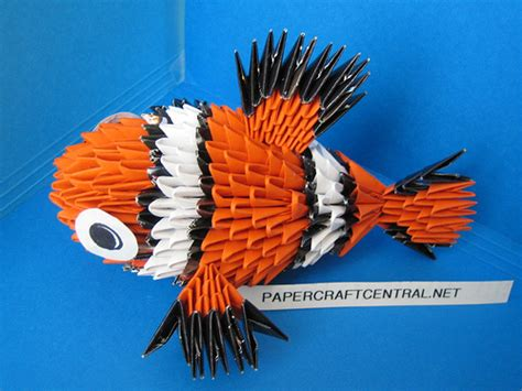 3d origami nemo tutorial 3d origami disney s finding nemo flickr photo sharing