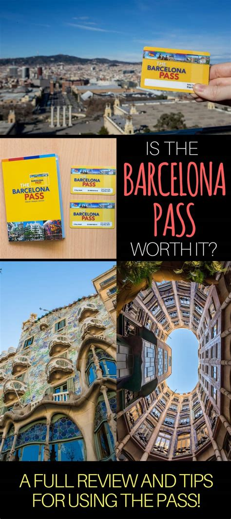 barcelona pass tips on using buying the barcelona pass is it worth it