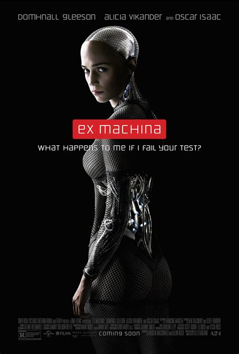 ex machina 2015 movie trailer 2 clip poster who is