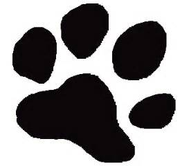 tiger paw print and bubba