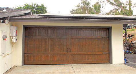 Garage Doors Unlimited Stain Grade Custom Wood Garage Door Garage Doors Unlimited