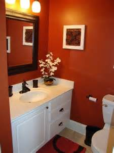 Orange Bathroom Ideas Orange Bathroom Colors Images Croscillsocial