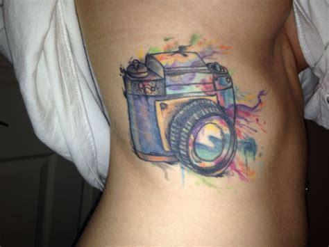 tattoo photo camera my watercolor camera tattoo ink pinterest camera