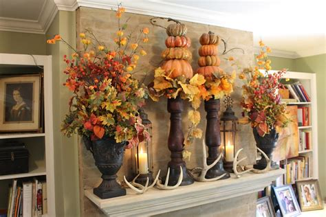 fall decorations for the home 24 best fall mantel decorating ideas and designs for 2018