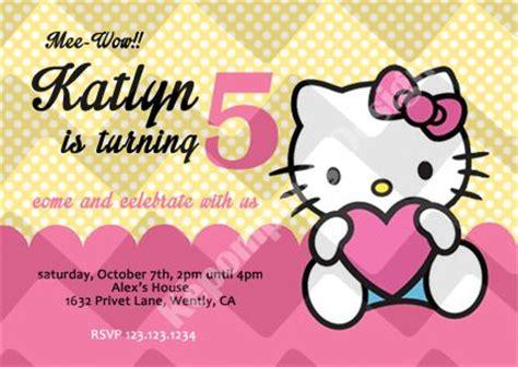 template undangan ulang tahun anak hello kitty hello kitty card 1 birthday invitation card kartu undangan