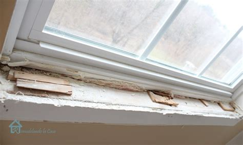 How To Replace Door Trim by Interior Window Sill Goenoeng