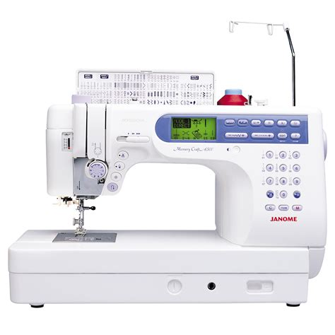 janome 6500p fully featured computerized quilting and