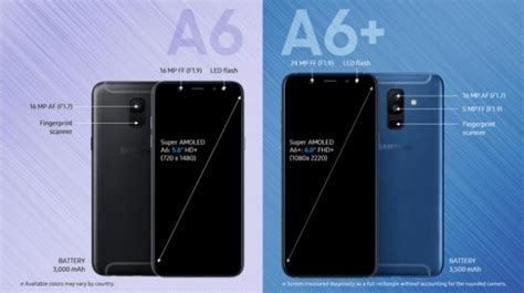 samsung a6 samsung galaxy a6 galaxy a6 specs and prices leaked technology news