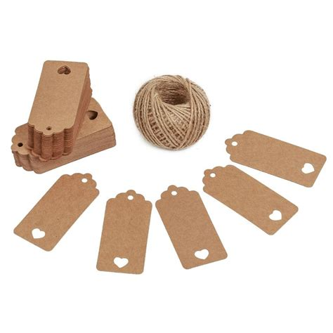 How To Make Paper Tags - save 63 kinglake 174 100 pcs kraft paper gift tags with