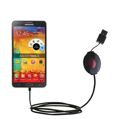 Usb Note 3 usb power port ready retractable usb charge usb cable