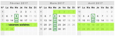 Date Vacances Avril 2017 Calendrier Des Ateliers