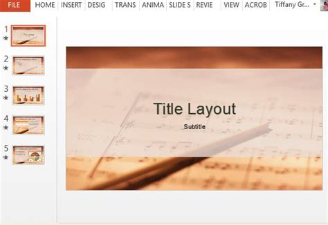 templates powerpoint free download music free music sheet powerpoint template