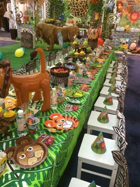 jungle safari birthday party ideas events a to z z is for zoo parties sweet city candy blog