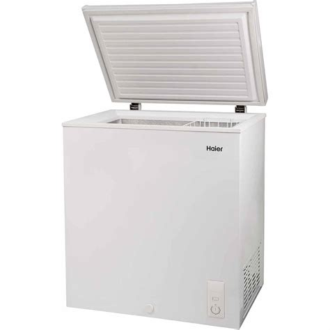 Freezer Box Haier haier chest freezer 5 0 cu ft small size compact