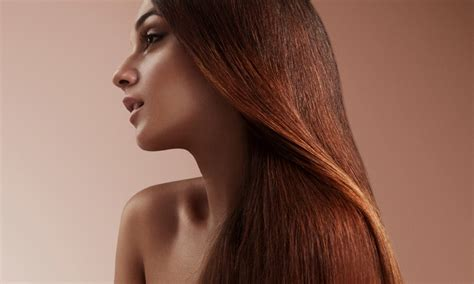Groupon Haircut High Wycombe | hair straightening with blow dry bounce hair and beauty