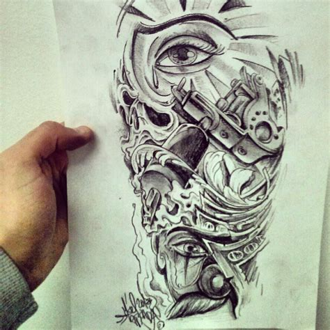 mexican tattoo designs art chicano style curro para luismi lawas